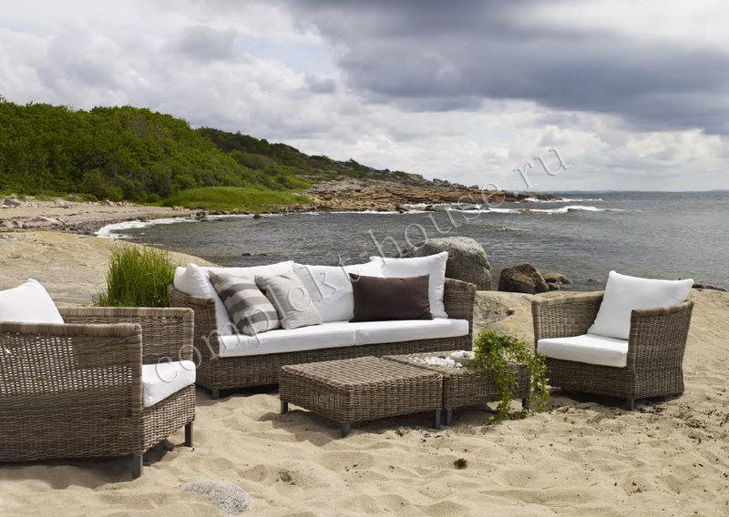 """""""Menorca"""". Коллекция плетеной мебель."""