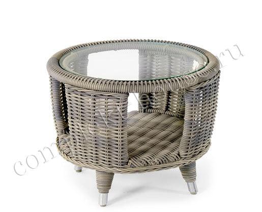 """""""Evita"""". Плетеный стол, диаметр 60 см."""
