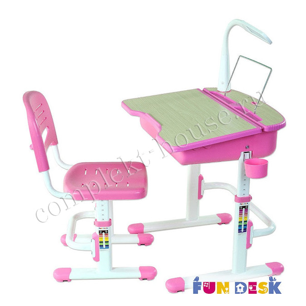 """Capri Pink"". Детский стол-парта."