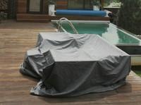 """""""Weatherproof"""". Чехол для мебели, универсальный (3,3х2,95 м)."""