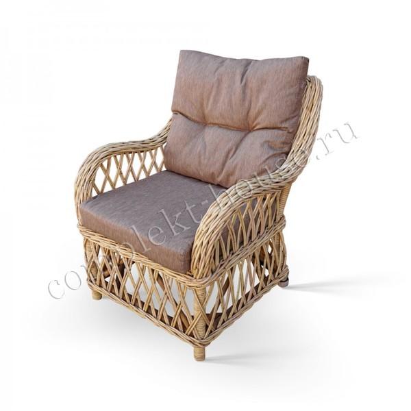 Кресло из натурального ротанга Julia-Eco