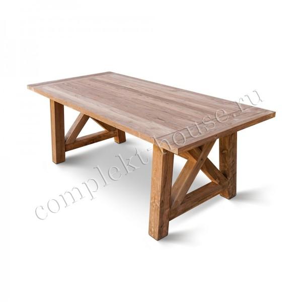 """""""Leonardo"""". Стол из тика (220х100 см)"""