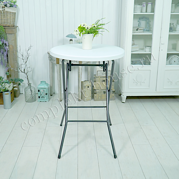 Фуршетный стол складной Solid 80х110 см