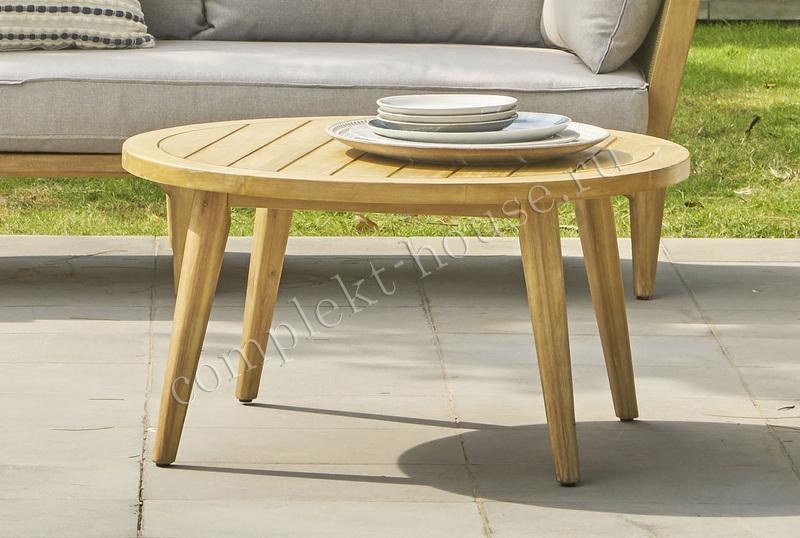Кофейный столик из акации Gerona