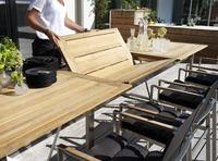 """Gotland"". Раскладной стол (220/320х100 см)."