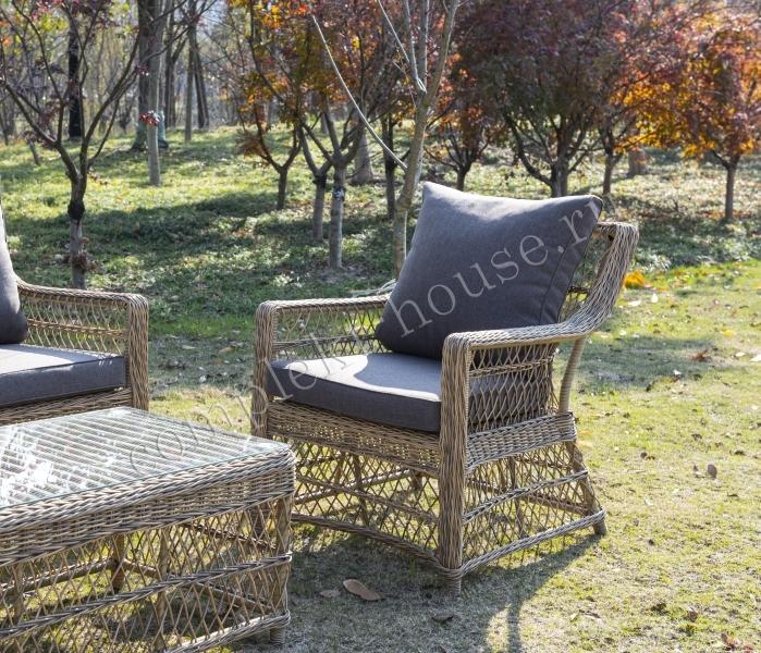 Кресло плетеное Latte Grande