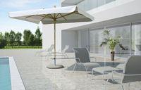 Зонт 3х3 м, LuxHailti