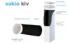 """""""Vakio Kiv"""". Рекуператор воздуха (приточный клапан)."""