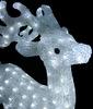 Акриловая фигура с эффектом мерцания Северный олень 73 см