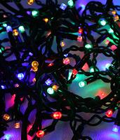 Гирлянда светодиодная Нить 10м LED 100 Led