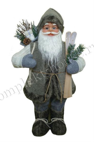 Новогодняя фигура Дед мороз 60 см