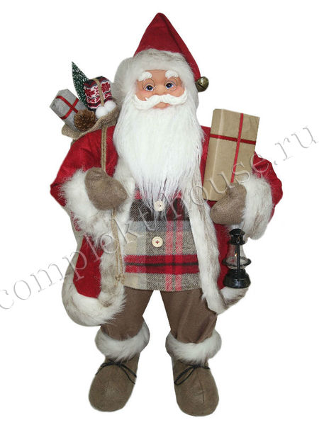 Новогодняя фигура Дед мороз 81 см