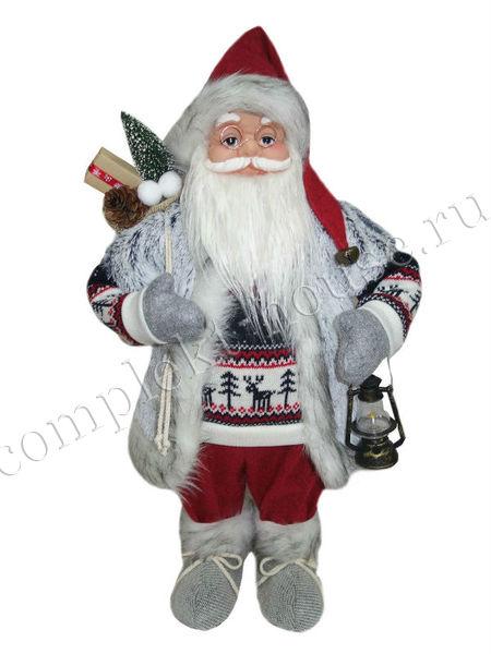 Новогодняя фигура Санта Клаус 61 см