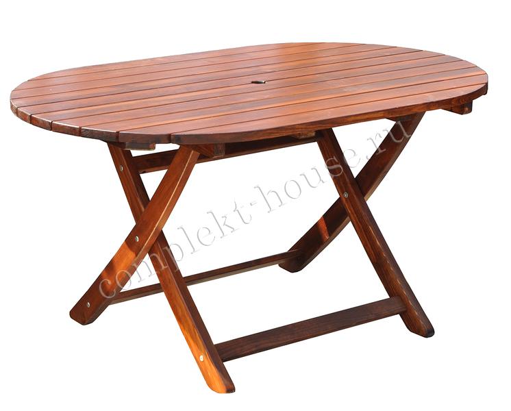"""""""Madrid"""". Стол складной, 140х85х72 см."""