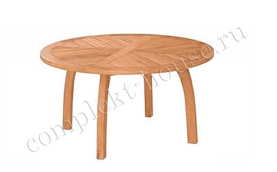 """""""Modena"""". Тиковый стол, D 150 см."""