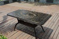 Стол из литого алюминия Vulcan 150