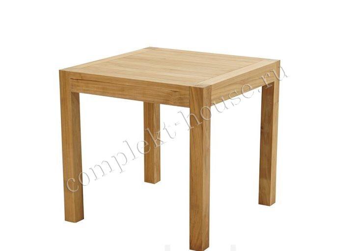 Стол из тика Heven New (размер 80х80)