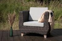 Кресло из искусственного ротанга Naola