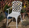 """""""Seldona"""". Кресло из литого алюминия."""