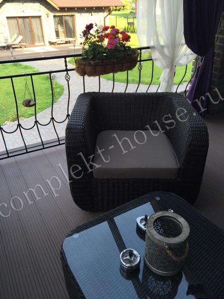 Кресло плетеное Stockholm