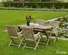 """""""Turin"""". Стол тиковый,140х80 см, раскладной."""