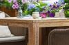 «Vichentsa». Обеденный стол из тика,90x90х77 см.